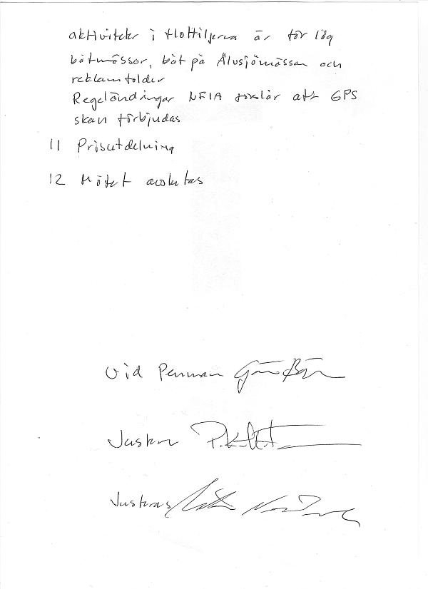 Årsmöte 2009-11-24... protokollet del 2